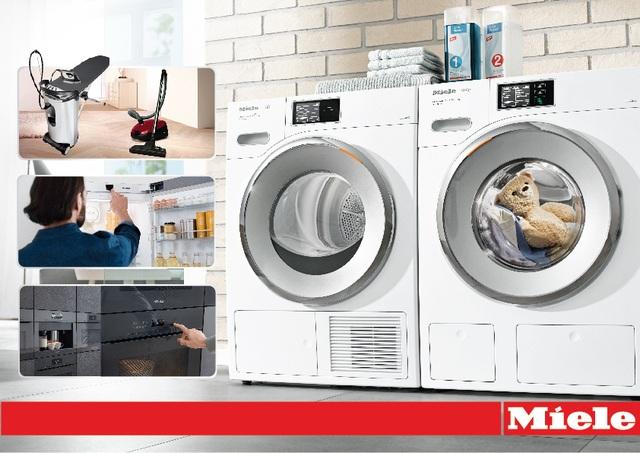 Máy giặt Miele có thể sử dụng ổn định lên tới 20 năm, mang lại chế độ giặt giũ thông minh giúp tiết kiệm thời gian và công sức.
