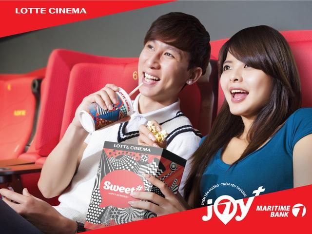 Hoàn tiền 50% khi mua vé tại rạp Lotte Cinema - 1