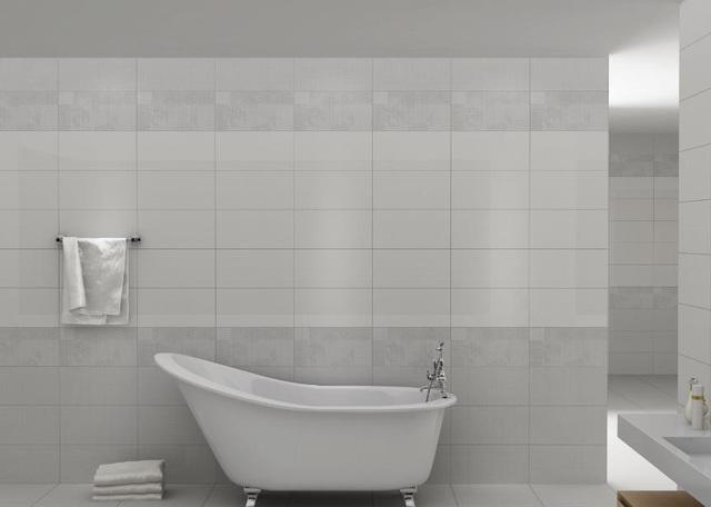 Gạch ốp lát Prime thiết kế theo phong cách tối giản, viên điểm tường lấy cảm hứng từ họa tiết vải dệt truyền thống xứ Maroc