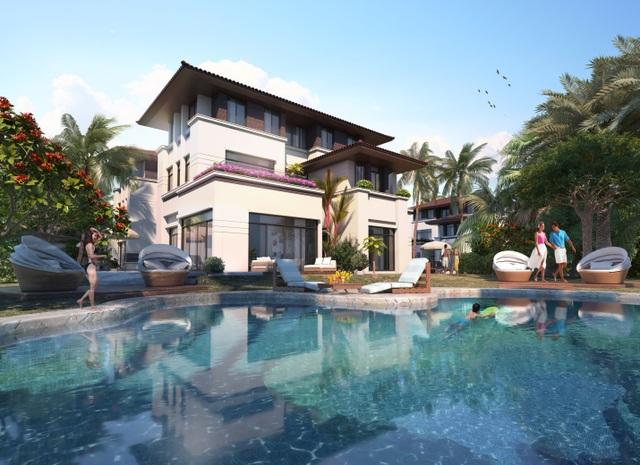 """Bể bơi riêng biệt thự FLC Hạ Long – không gian lý tưởng cho các buổi hẹn hò lãng mạn hay một buổi """"pool party"""" linh đình, sôi động và xa hoa"""