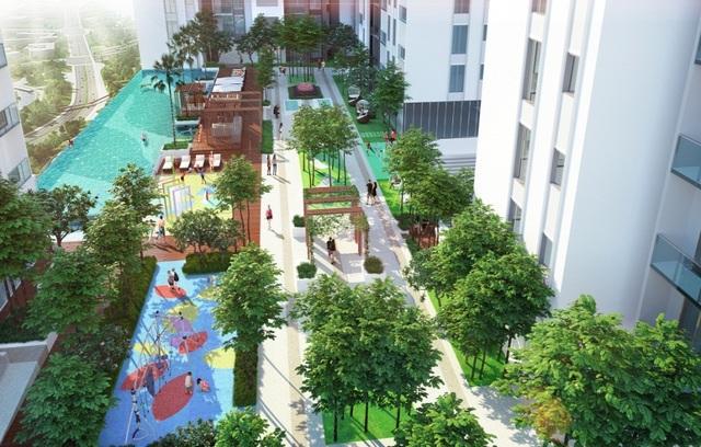 Các dự án có tổ hợp tiện ích hiện đại, kèm mảng xanh lớn luôn được khách hàng quan tâm