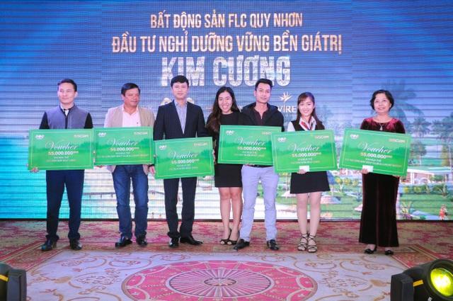 Ngoài voucher nghỉ dưỡng 3 ngày 2 đêm tại FLC Quy Nhơn, khách hàng HP còn nhận thêm voucher Golf liên sân trị giá 55.000.000/voucher