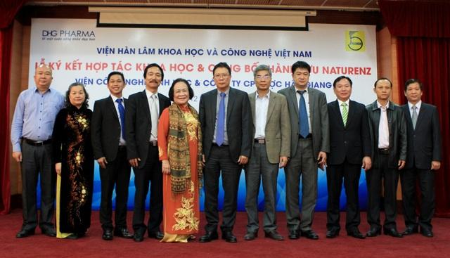 Dược Hậu Giang hợp tác với các nhà khoa học hàng đầu Việt Nam - 1