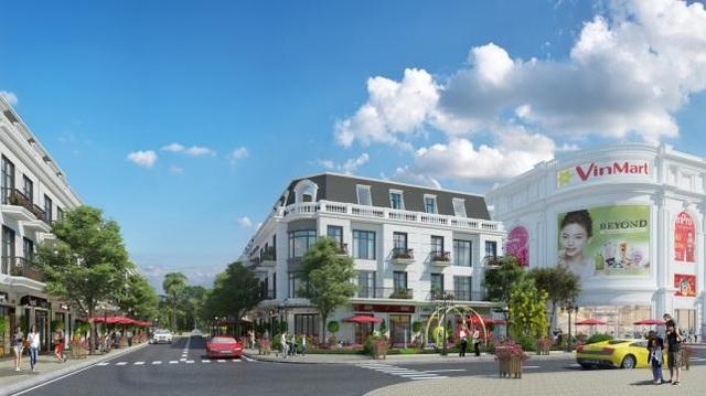 Dãy nhà phố thương mại tại Vincom Shophouse trong tương lai gần