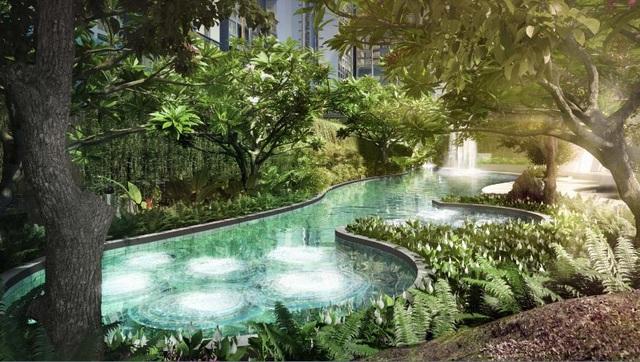 Suối nước nóng tích hợp bể sục Jacuzzi – Dấu ấn thiên nhiên tại Feliz en Vista