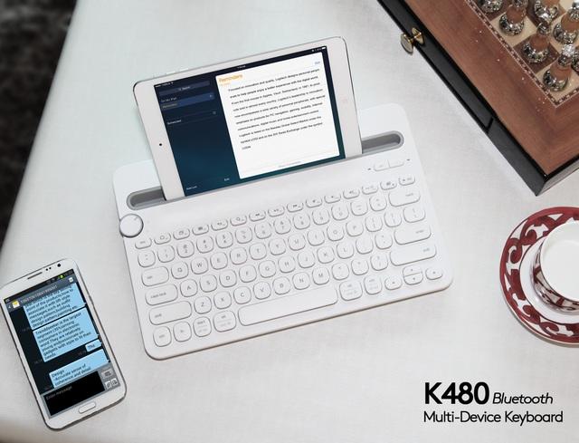 Bàn phím K480 Bluetooth Multi-Device Keyboard