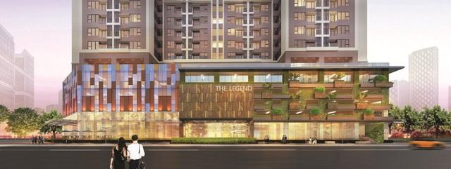 5 tầng đỗ xe và các tiện ích hoàn khảo khác kiến tạo không gian sống hoàn hảo tại The Legend