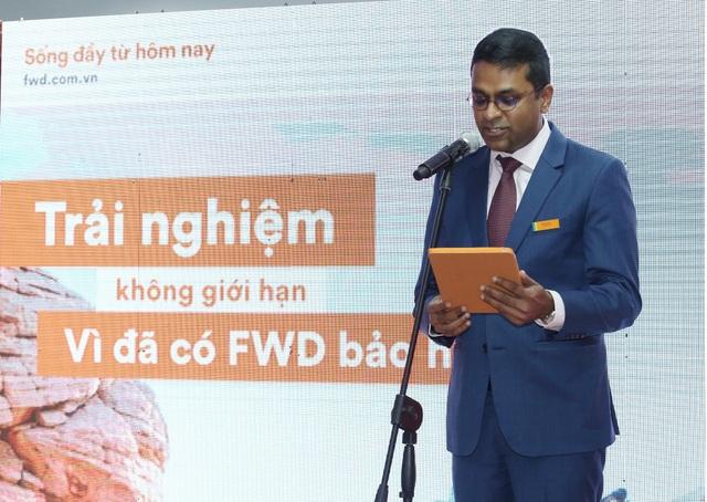 Ông Anantharaman Sridharan - Tổng Giám đốc FWD Việt Nam