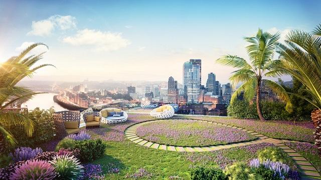 """Được đánh giá là """"dự án vạn người mê"""" nên Imperia Sky Garden không chỉ sở hữu vị trí đắc địa mà còn có không gian sống an lành bậc nhất thủ đô."""