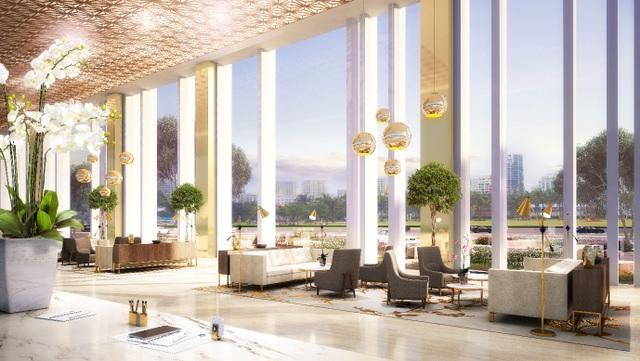 Sảnh Business Lounge sang trọng cho doanh nhân