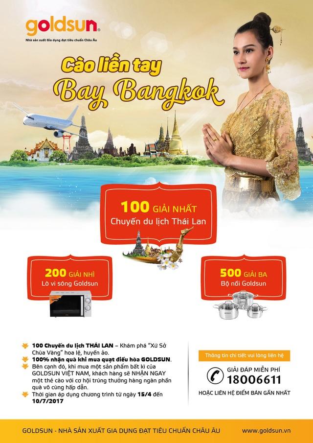 """Nhiều phần quà từ chương trình """"Cào liền tay - Bay Bangkok """" - 1"""
