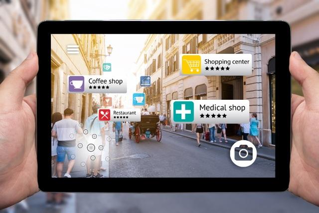 AR đang được ứng dụng triệt để trong thương mại hiện nay