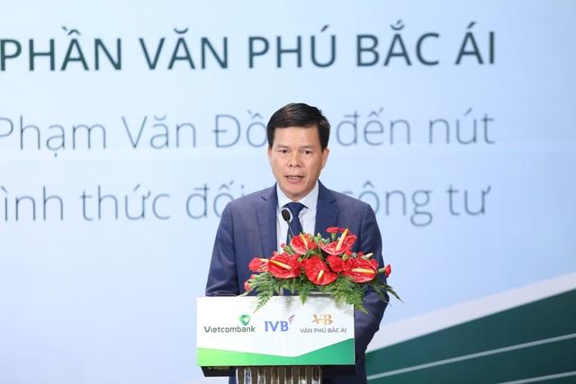 Ông Phạm Mạnh Thắng - Phó Tổng Giám đốc Ngân hàng thương mại cổ phần Ngoại thương Việt Nam