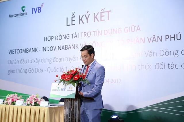 Ông Trần Đức Thắng - Tổng giám đốc công ty Cổ Phần Văn Phú Bắc Ái