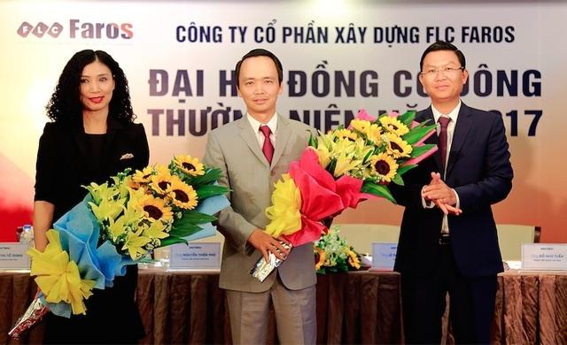 Ông Trịnh Văn Quyết chính thức thành tân Chủ tịch HĐQT FLC Faros