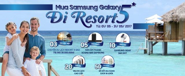 Nghỉ dưỡng miễn phí tại resort 5* cùng Samsung Galaxy - 1