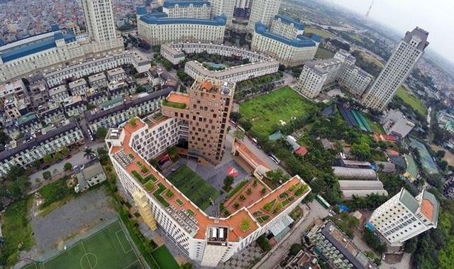 Xung quanh The Manor là hệ thống các trường học lớn, danh tiếng tại Hà Nội.