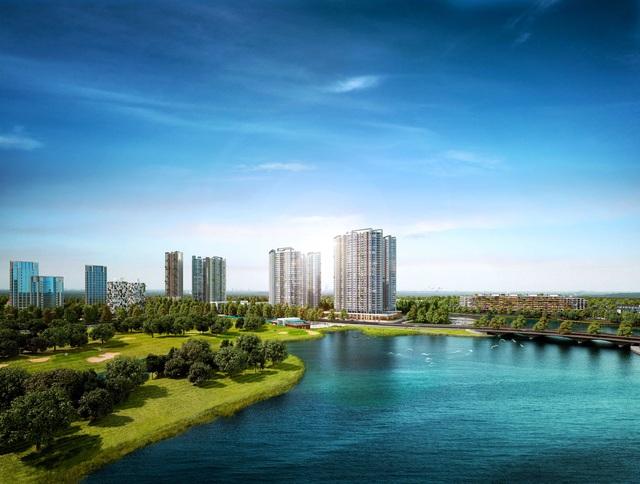 100% căn hộ Lake 1 Ecopark đều có tầm nhìn hướng hồ