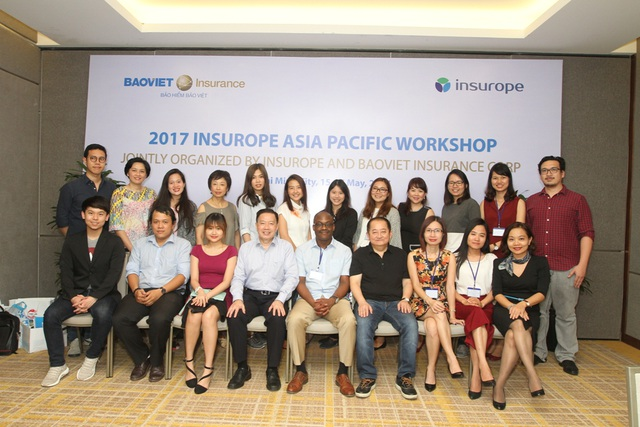 Đại diện thành viên của mạng lưới bảo hiểm Insurope khu vực Châu Á - Thái Bình Dương