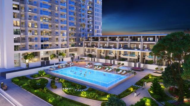 Hometel Green Bay Premium được trang bị và thừa hưởng trọn vẹn tiện ích cao cấp nội khu