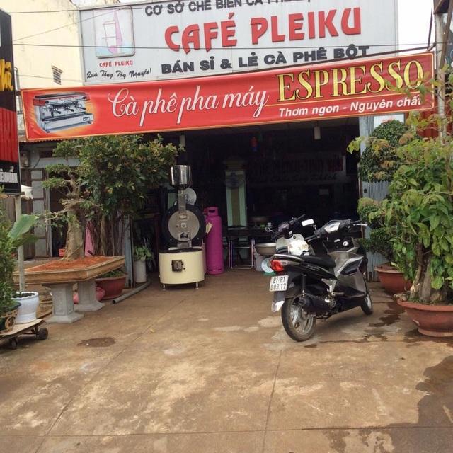 Chuyển giao máy Model Rio 15 New Gas và kỹ thuật tận nơi cho Cơ sở cà phê Pleiku