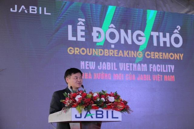 Ông Patrick Tan Giám Đốc Điều Hành của Jabil Việt Nam
