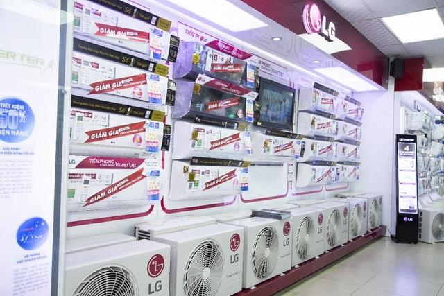 """Máy điều hòa xua muỗi đang trở thành """"hàng hot"""" trên thị trường điện lạnh."""
