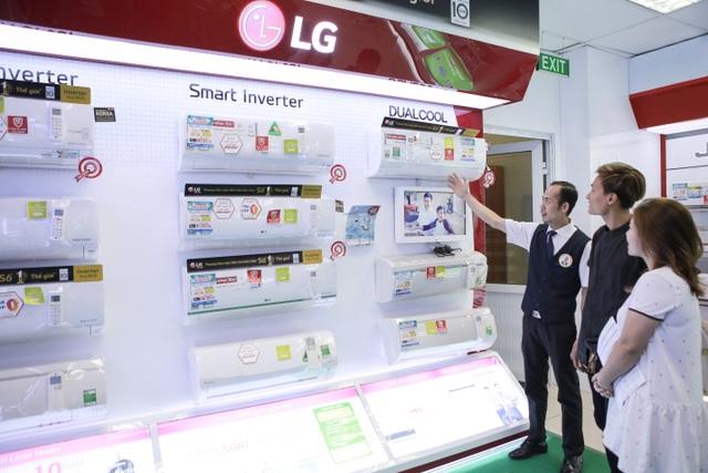 Năm 2017, LG trở thành hãng điện tử đầu tiên ở Việt Nam phổ cập hóa công nghệ Inverter