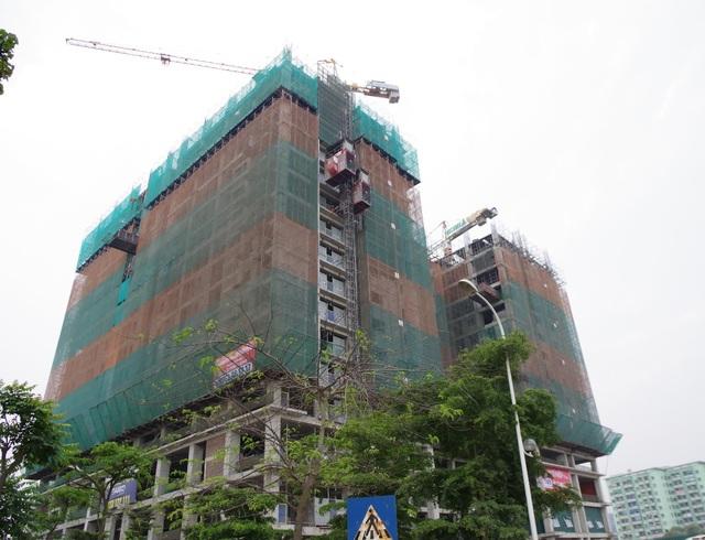 Tứ Hiệp Plaza hiện đang xây tầng 20, dự kiến bàn giao vào quý II/2018