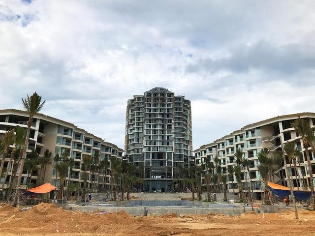 Tiến độ xây dựng tổng thể của InterContinental Phu Quoc Long Beach Resort & Residences đã hoàn thành tới hơn 70%