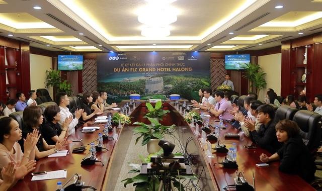 Lễ ký kết đại lý phân phối chính thức Dự án FLC Grand Hotel Hạ Long