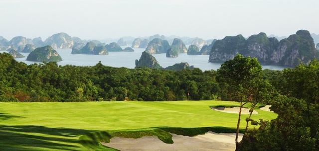 FLC Grand Hotel Hạ Long nằm cạnh sân golf đẹp nhất và thách thức nhất của Tập đoàn FLC hiện nay