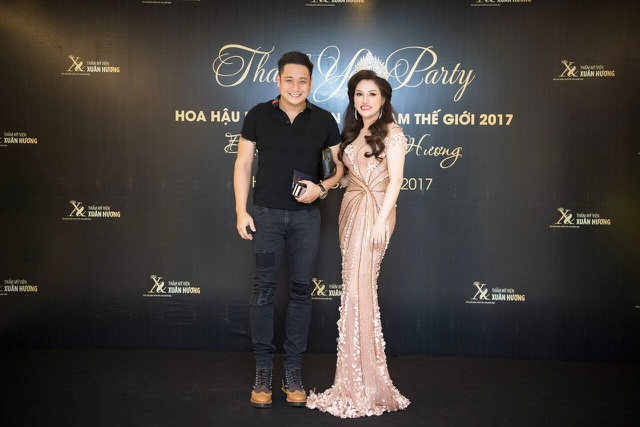Hoa hậu Doanh nhân Xuân Hương lộng lẫy cùng dàn Hoa hậu trong đêm tiệc Thanks Party - 8