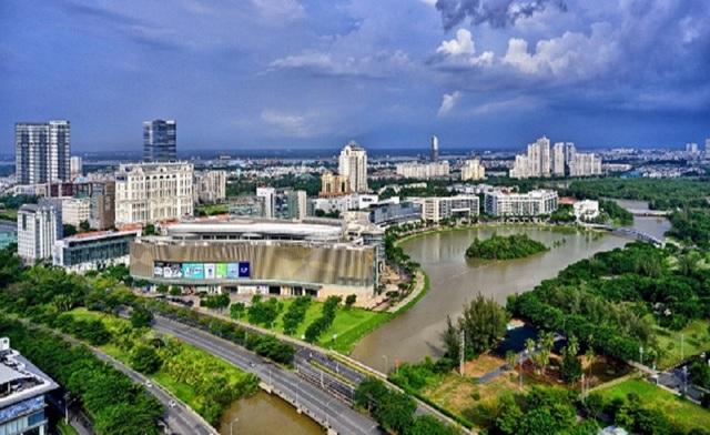 Những khu đô thị xanh nổi bật tại TPHCM - 2