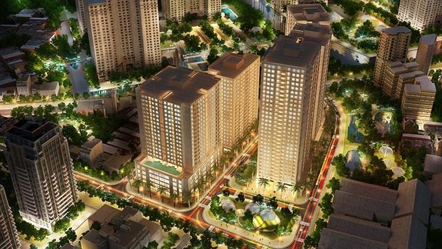 New Horizon City là sự kết hợp hoàn hảo giữa nét truyền thống Á Đông với tư duy kiến trúc hiện đại