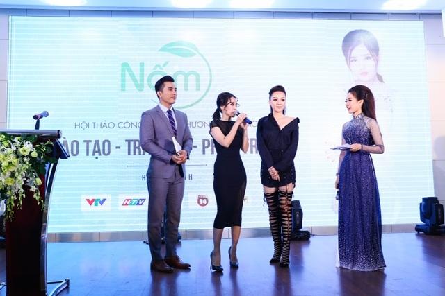 Diễn viên Tú Vi, Băng Di tin dùng sản phẩm của Nấm để chăm sóc cho làn da, vóc dáng.