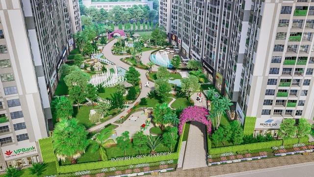 Imperia Sky Garden được dự đoán sẽ tạo nên sức hút trong sáu tháng cuối năm