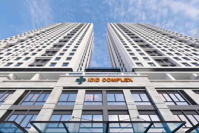 Phong cách hiện đại của ICID Complex phù hợp với gia đình trẻ