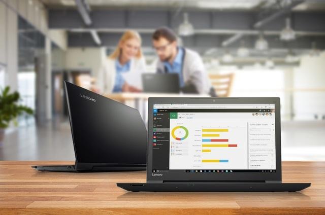 Lenovo V310 14 inch với thiết kế bền bỉ, bảo mật, hiệu năng cao, mỏng nhẹ với trọng lượng dưới 2kg và thời lượng pin kéo dài đến 12h là máy tính phù hợp với các tiêu chí lựa chọn cho doanh nghiệp
