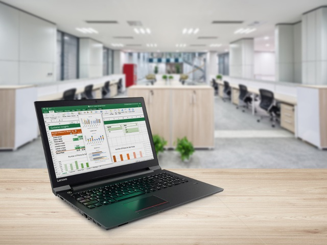 Lenovo V310 có hiệu suất làm việc tốt, đáp ứng đủ các công việc văn phòng hàng ngày của doanh nghiệp