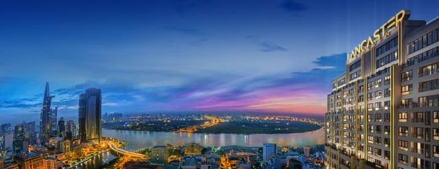 Lancaster Lincoln sở hữu 360 độ view sông và view toàn cảnh thành phố