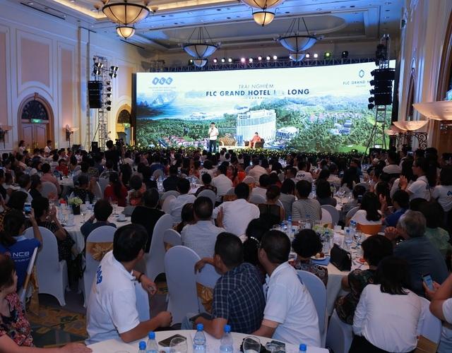 Lễ giới thiệu FLC Grand Hotel Hạ Long lần hai thu hút hàng trăm chủ đầu tư