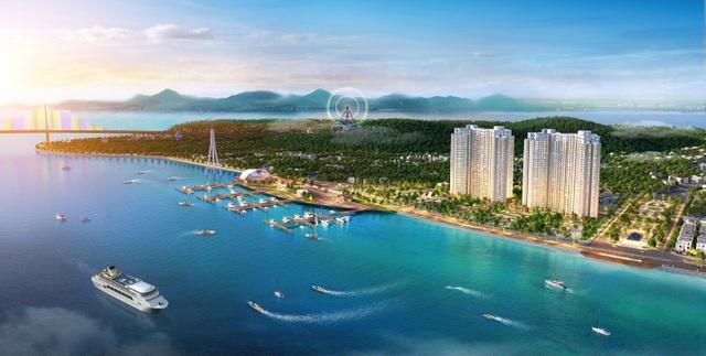 Dự án The Sapphire Residence được ví như Thành phố lam ngọc bên Vịnh Thiên đường