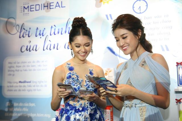 Mediheal là thương hiệu yêu thích của cả Á hậu Huyền My và Á hậu Thùy Dung.