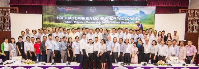 07 tỉnh thuộc khu vực Đồng bằng sông Cửu Long của dự án IC đã tham gia thực hiện thí điểm tại vùng dự án BRIA.