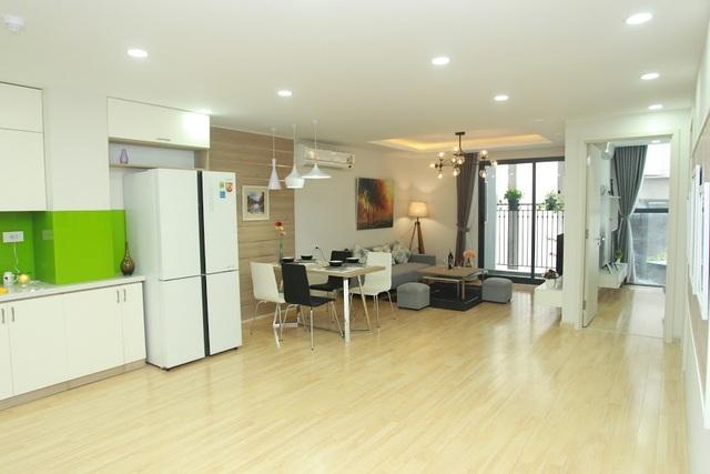 Ngắm nội thất đẹp như mơ tại căn hộ chung cư 80m2 - 1
