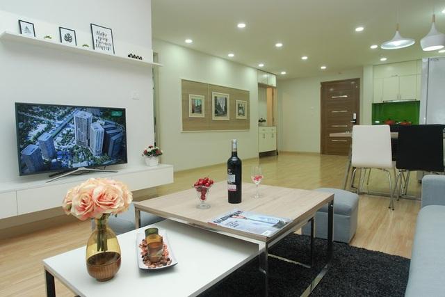 Ngắm nội thất đẹp như mơ tại căn hộ chung cư 80m2 - 2