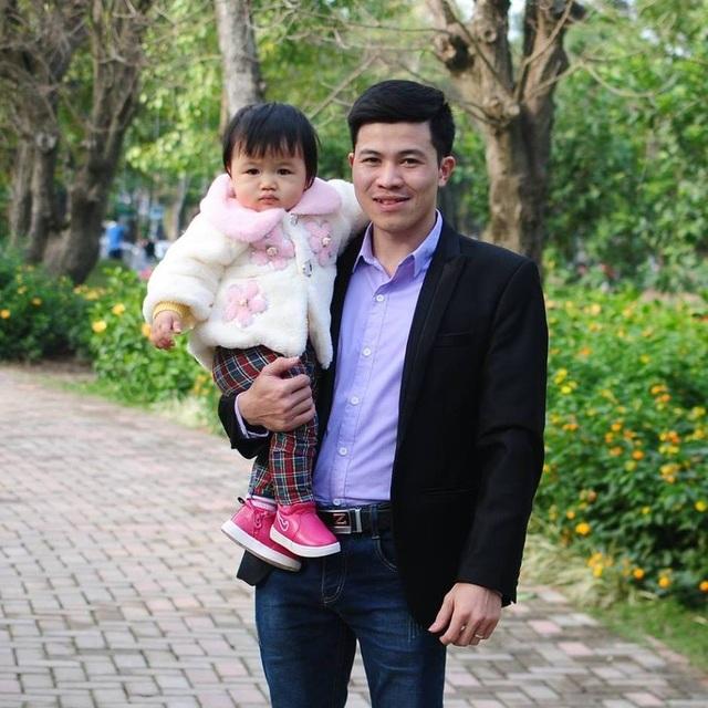 Anh Trần Thanh Lăng và con gái