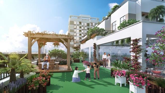 Valencia Garden có nhiều không gian tuyệt đẹp, riêng tư và yên tĩnh