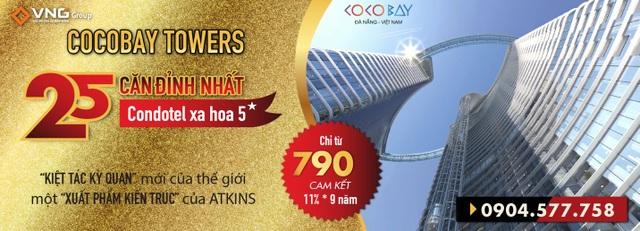 Xuất phẩm kiến trúc Cocobay Towers kiến tạo kỳ quan thế giới mới - 4
